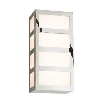 Sonneman 2510.35 Capital Polished Nickel LED Wall Sconce