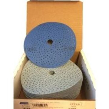 NOR07775 6 in. Multi-Air Cyclonic Dry Ice NorGrip Discs, 180 Grit - Pack of 50