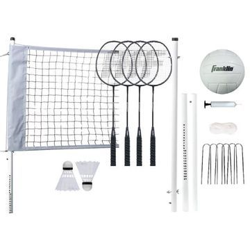 Franklin Sports Professional Badminton & Volleyball Set