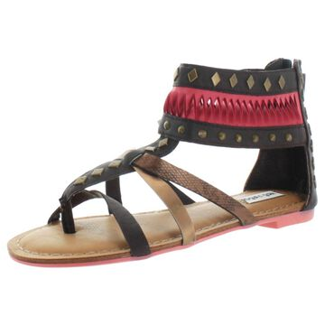 Not Rated Lemon Twist Women's Gladiator Thong Sandals Studded