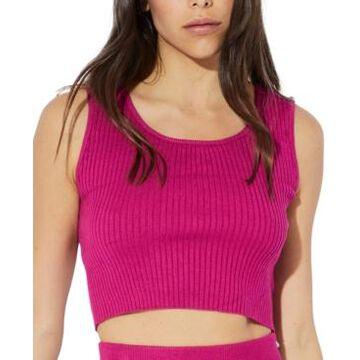 Minkpink Mona Knit Crop Top