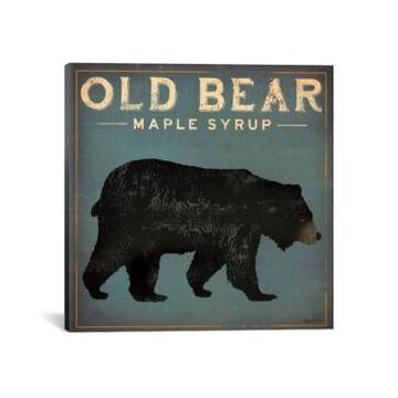 iCanvas Old Bear Maple Syrup by Ryan Fowler Gallery-Wrapped Canvas Print - 26