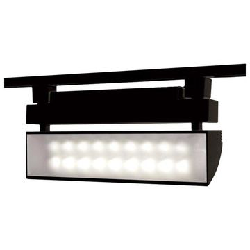WAC Lighting Wall Washer LED 3500K in Black for J Track