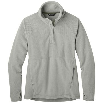 Outdoor Research Women's Trail Mix Snap Pullover - Small - Sand
