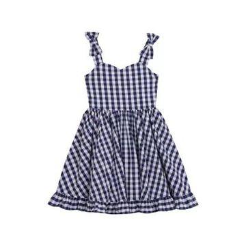 Rare Editions Girls' Toddler Girls Gingham Midi Dress - -