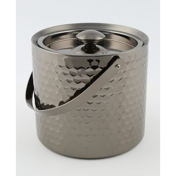 Faceted Double Wall Ice Bucket
