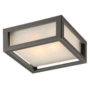 PLC Lighting 9.75-in H Bronze Medium Base (E-26) Outdoor Wall Light   2248 BZ