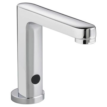 American Standard Serin Polished Chrome Touchless Single Hole Bathroom Sink Faucet with Deck Plate | 250B102.002