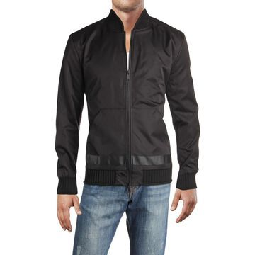 Karl Lagerfeld Paris Mens Fall Lightweight Basic Jacket