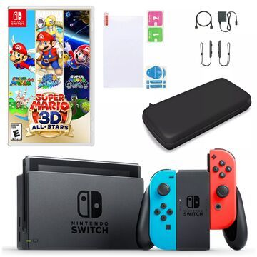 Nintendo Switch Bundle with Super Mario 3D AllStars