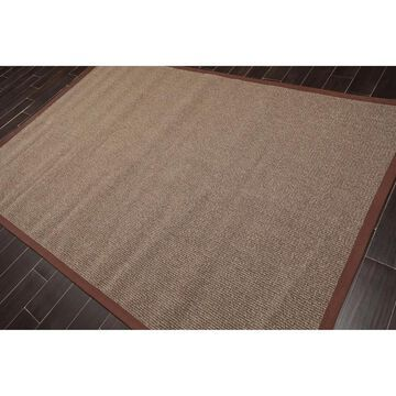 Designer Area Rug Machine Made Wool Contemporary Karastan (6'x9') - 6' x 9'