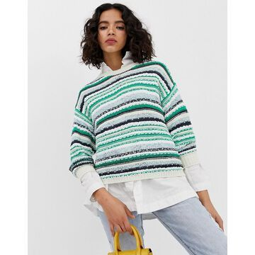 Vero Moda stripe texture sweater