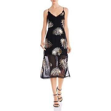 Finders Keepers Glimmer Illusion Midi Dress