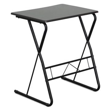 Furinno Besi Metal Frame Writing Desk, Espresso FC1070EX
