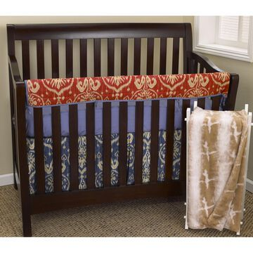 Cotton Tale Sidekick Front Rail Cover Up 4-piece Crib Bedding Set