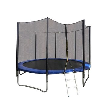ALEKO 12 Foot Trampoline With Safety Net and Ladder