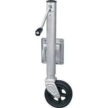 SeaSense 1500 lbs Mighty Wheel Swing-Up Trailer Jack with Brake, Seacoat