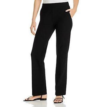 Eileen Fisher System Yoked Straight-Leg Pants