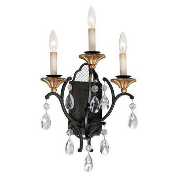 Metropolitan N7103 3 Light Wall Sconce from the Cortona Collection