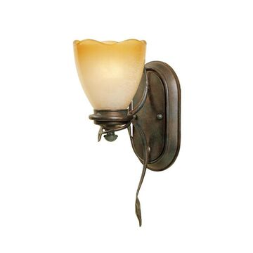 Designers Fountain Timberline 5-in W 1-Light Old Bronze Modern/Contemporary Wall Sconce