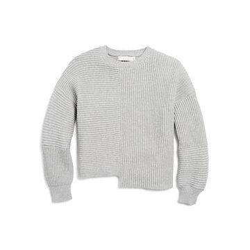 Stella McCartney Girls' Ribbed Asymmetric-Hem Sweater - Little Kid, Big Kid