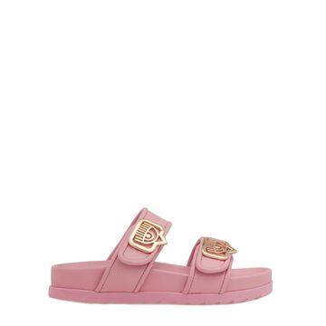 Chiara Ferragni Smooth Leather Sandal