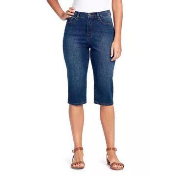 Gloria Vanderbilt Women's Petite Amanda Skimmer Shorts - -