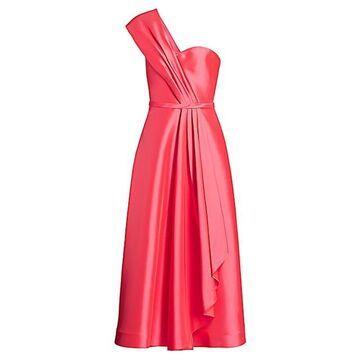 Zibeline Tea-Length Cocktail Dress