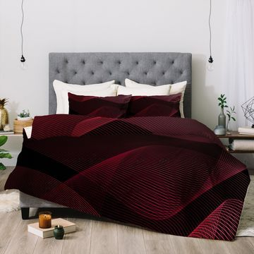 Deny Designs Abstract 3-Piece Comforter Set