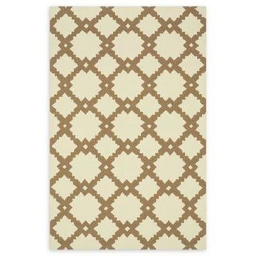 Loloi Rugs Venice Beach Arabesque 2'3 x 3'9 Accent Rug in Ivory/Taupe
