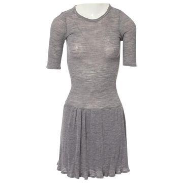 Isabel Marant Etoile \N Grey Wool Dresses