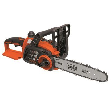 BLACK+DECKER 20-Volt Max 10-in Cordless Electric Chainsaw (Battery Included) | LCS1020