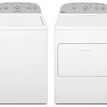 Whirlpool High-Efficiency Top Loading Washer with Electric Dryer