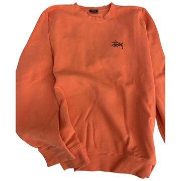 Stussy \N Orange Cotton Knitwear & Sweatshirts