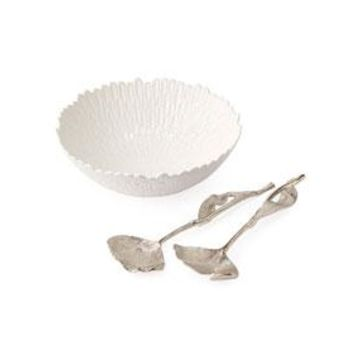 Chrysanthemum Salad Serving Set
