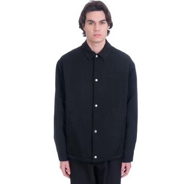 OAMC Context Casual Jacket In Black Polyamide