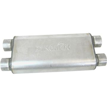 D2217554 Dynomax Muffler, made of stainless steel dynomax ultra flo welded x natural