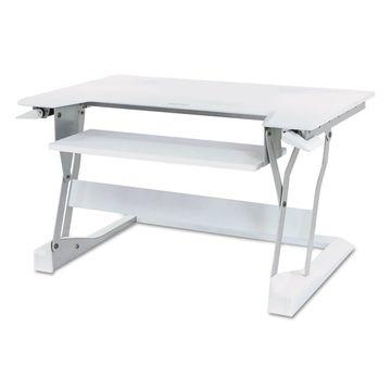 Ergotron WorkFit-T Desktop Sit-Stand Workstation 35 x 22 x 20 White 33397062