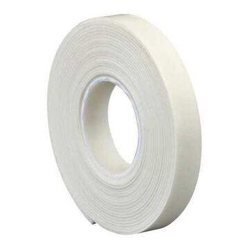 3M 4466 Double Sided Foam Tape, 1 x 5 yds., 1/16,White, 1/Case