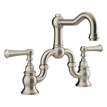 Jacuzzi MX808 Barreaa 1.2 GPM Bridge Bathroom Faucet - Includes Pop-