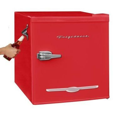 Frigidaire 1.6 Cu Ft Retro Mini Fridge With Side Bottle Opener, Red