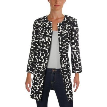 Kasper Womens Midi Work Wear Topper Jacket