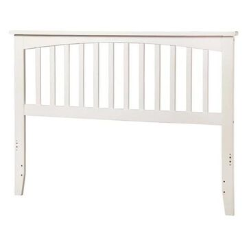 Atlantic Furniture Mission Queen Spindle Headboard in White