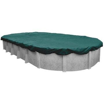 Robelle 15-Year Supreme Plus Oval Winter Pool Cover, 15 x 30 ft. Pool