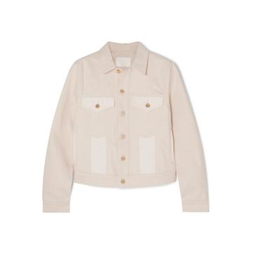 Dion Lee - Panelled Denim Jacket - Cream
