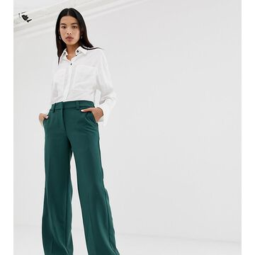 Weekday smart pants in dark green