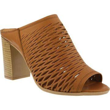 Spring Step Women's Marinda Slide Camel Leather