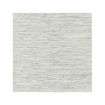 Grasscloth Blue Peel and Stick Wallpaper