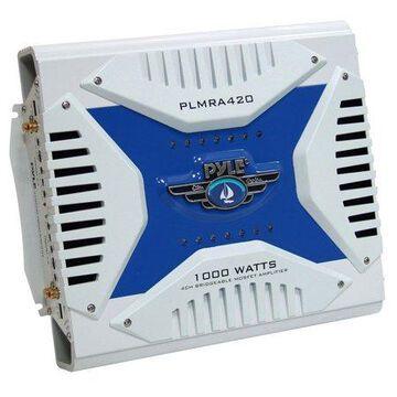 Pyle Hydra Marine Amplifier -Upgraded Elite Series 1000 Watt