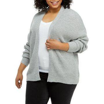 Dex Women's Plus Size Cozy Cardigan - -